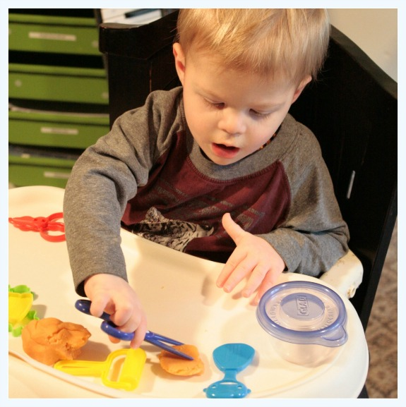Play Dough Boredom Buster