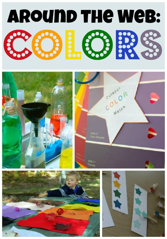 10 fun color activities from around the web!