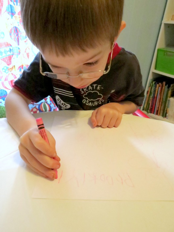 Learning in an Instant- Writing Letters