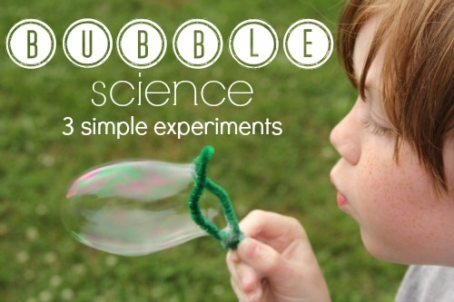 bubble science projects Bubbles: science in soap is a completely new and re-imagined exhibition that incorporates pure experimentation, hands-on learning, and a touch of whimsy for adults.